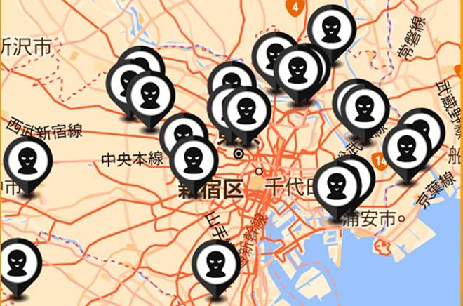 「東京不審者マップ」のすすめ